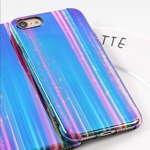 NEW iPhone 7 Plus/8 Plus Mirrored Laser Soft Case